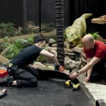 Building  Age of the Dinosaur -exhibition